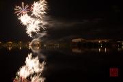 Volksfest 2015 - Final Fireworks - White