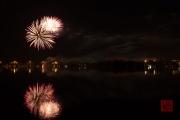 Volksfest 2015 - Final Fireworks - Silver & Red