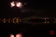 Volksfest 2015 - Final Fireworks - Silver & Purple