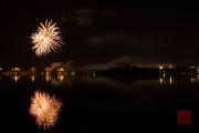 Volksfest 2015 - Final Fireworks - Gold & Purple