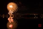 Volksfest 2015 - Final Fireworks - Gold