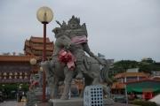 Taiwan 2015 - Kaohsiung - Sculpture - Man on Horse