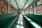 Taiwan 2015 - Alishan - Train - Inside