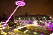 Taiwan 2015 - Kaohsiung - Bridge - Pink