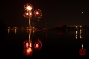 Spring Fair Fireworks Finale 2016 - Red & Orange