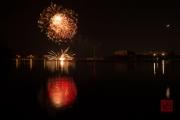Spring Fair Fireworks Finale 2016 - Red & Gold