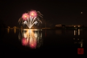 Spring Fair Fireworks Finale 2016 - Silver & Red