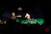 Blaue Nacht 2016 - Wahnheit - Human Horse, Kid in Costume, Gold