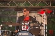 Brückenfestival 2016 - The Yoohoos - Koko B. II