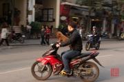 Hanoi 2016 - Motorcycle - Dog