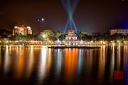 Hanoi 2016 - Turtle Pagoda by night I