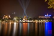 Hanoi 2016 - Turtle Pagoda by night II
