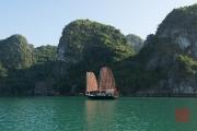 Halong Bay 2016 - Traditional boat