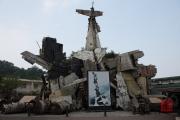 Hanoi 2016 - Military Museum - Plane installation