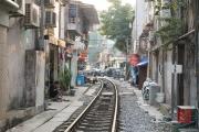 Hanoi 2016 - Train tracks I