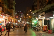 Hanoi 2016 - Streets by night