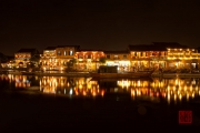 Hoi An 2016 - Riverpromenade by night