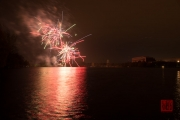 Nuremberg Spring Fireworks 2017 - Red & Green