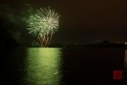 Nuremberg Spring Fireworks 2017 - Green