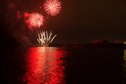 Nuremberg Spring Fireworks 2017 - Red & White I