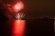Nuremberg Spring Fireworks 2017 - Red & White II