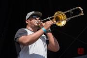 Bardentreffen 2017 - Bixiga 70 - Trombone II