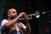 Bardentreffen 2017 - Džambo Aguševi Orchestra - Trumpet 2 III