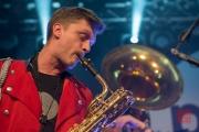 Puls Festival 2017 - Meute - Baritonsaxophone 2